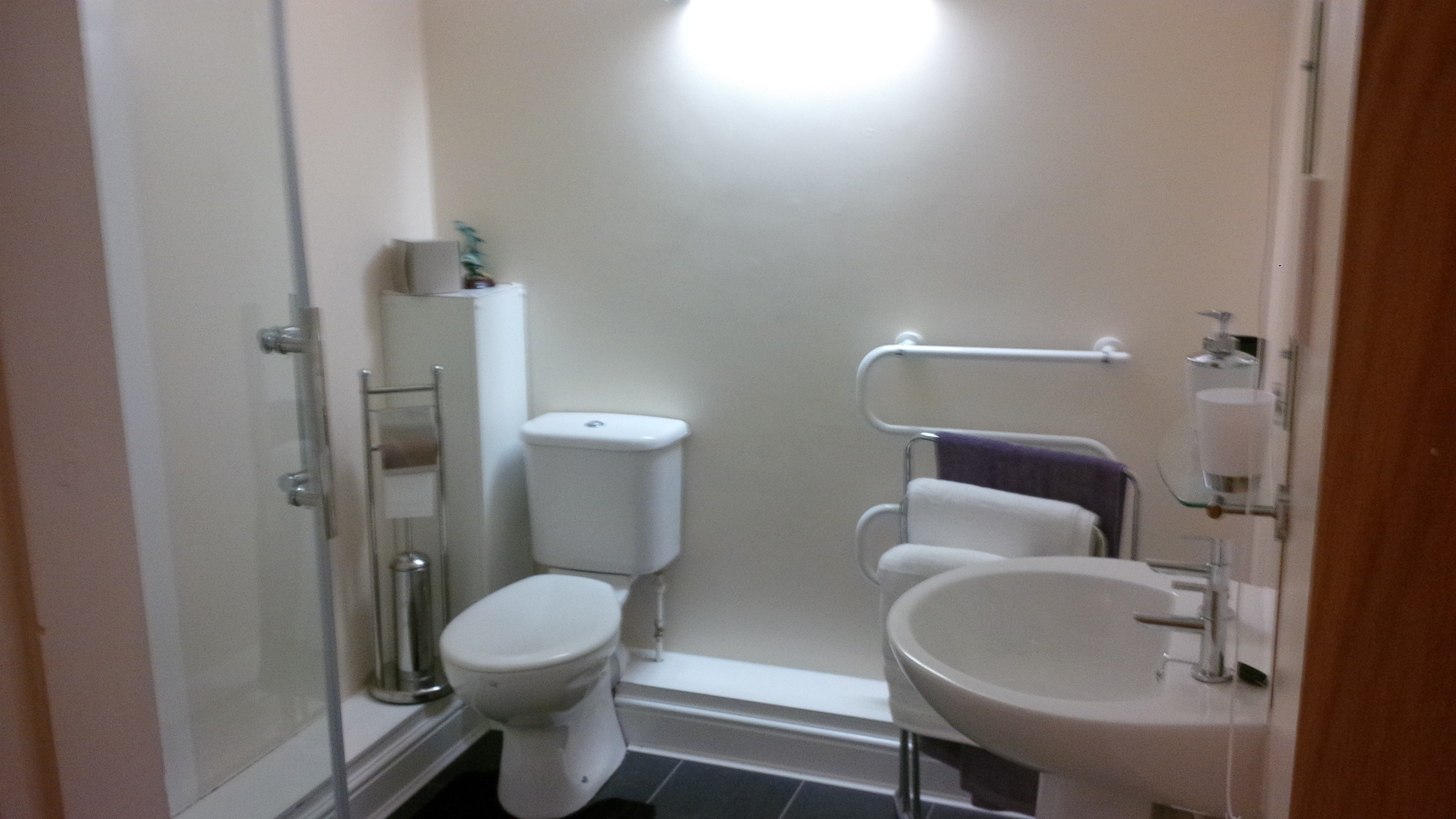 Restroom of the gastro pub in Northallerton