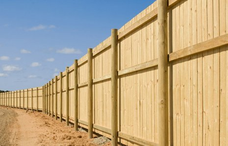 Vertical fence installations