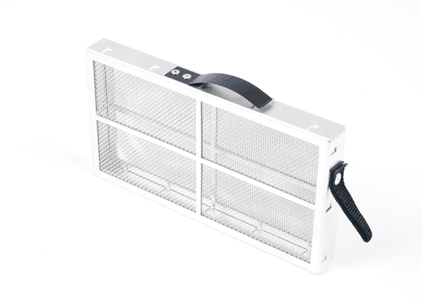 Electronic chassis air filter unit