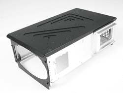 Electronic chassis sandwich construction