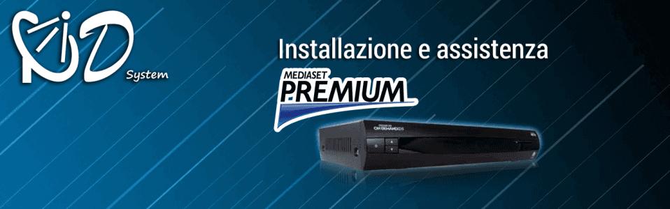 Installazione mediaset premium