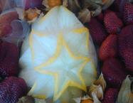 decorazione frutta
