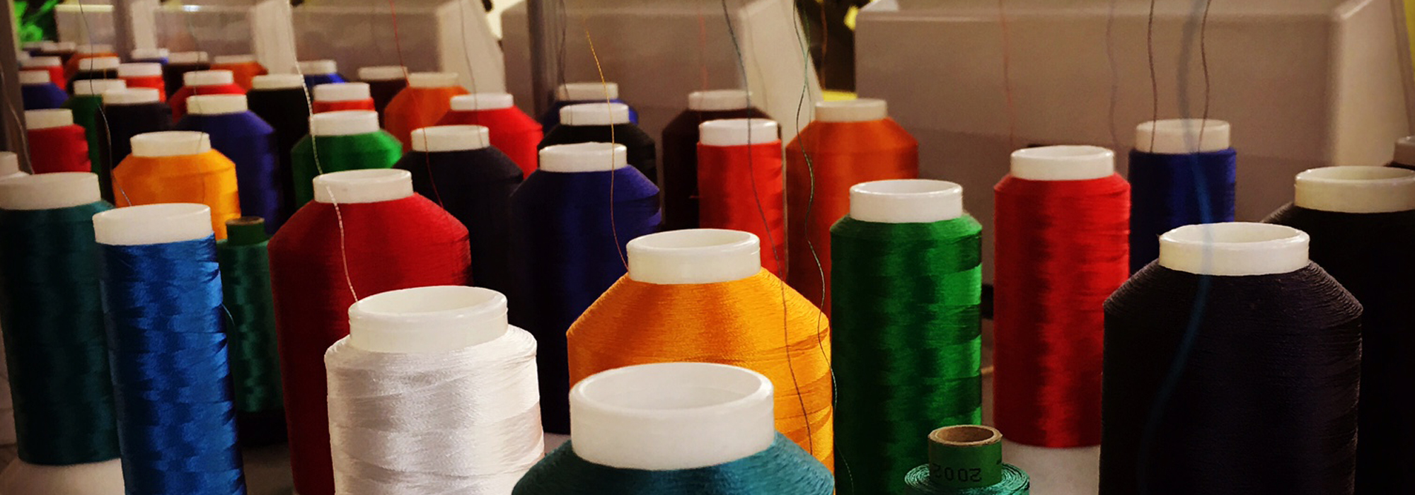 Wide range of high quality threads