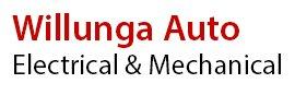 willunga auto electrical business logo