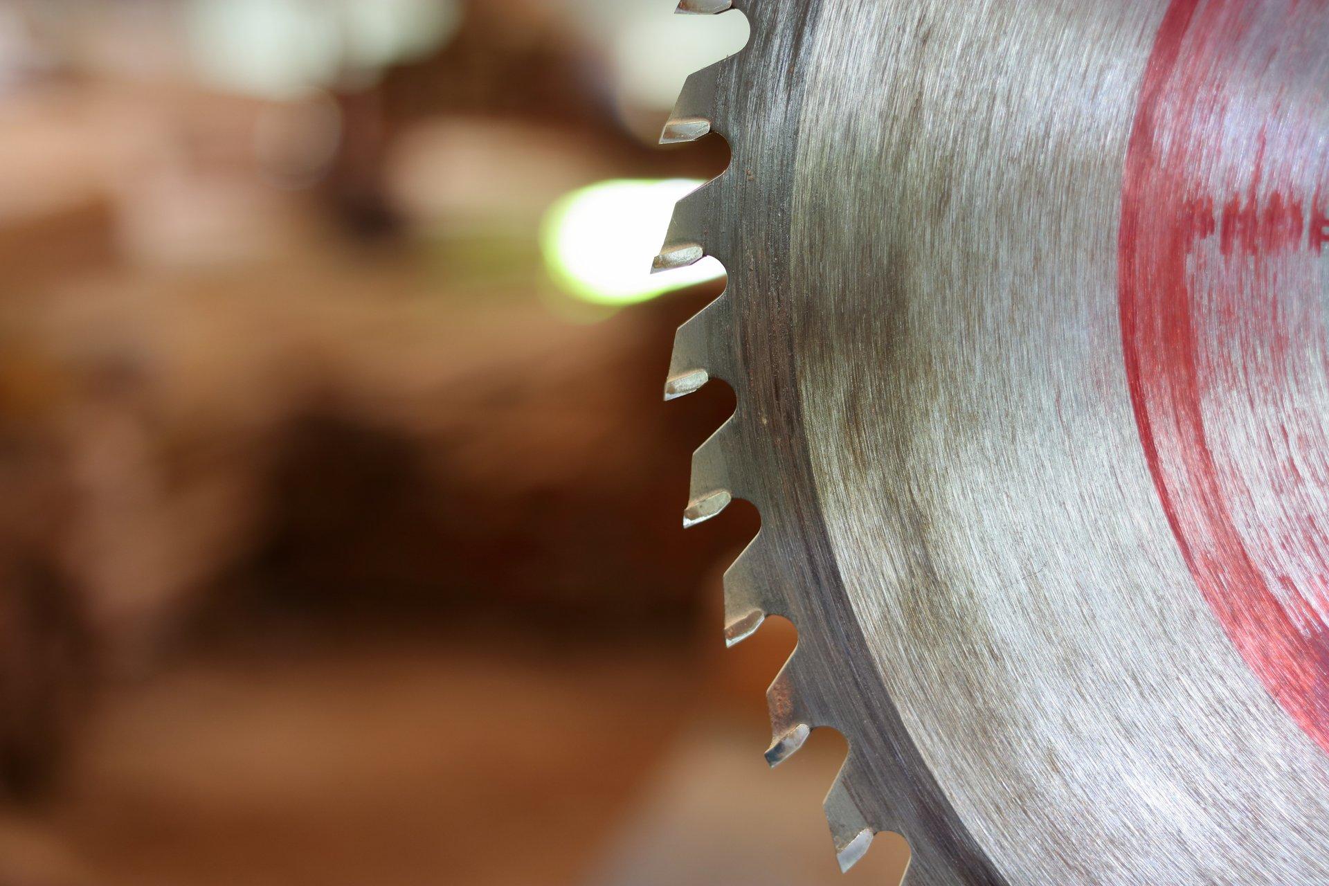 Primo piano di una ruota dentata
