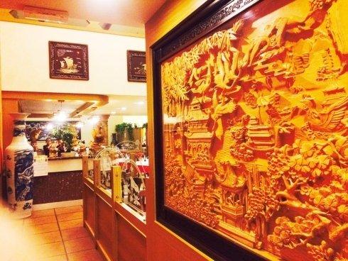 particolare ristorante cinese