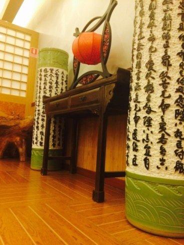 particolare ristorante Asia