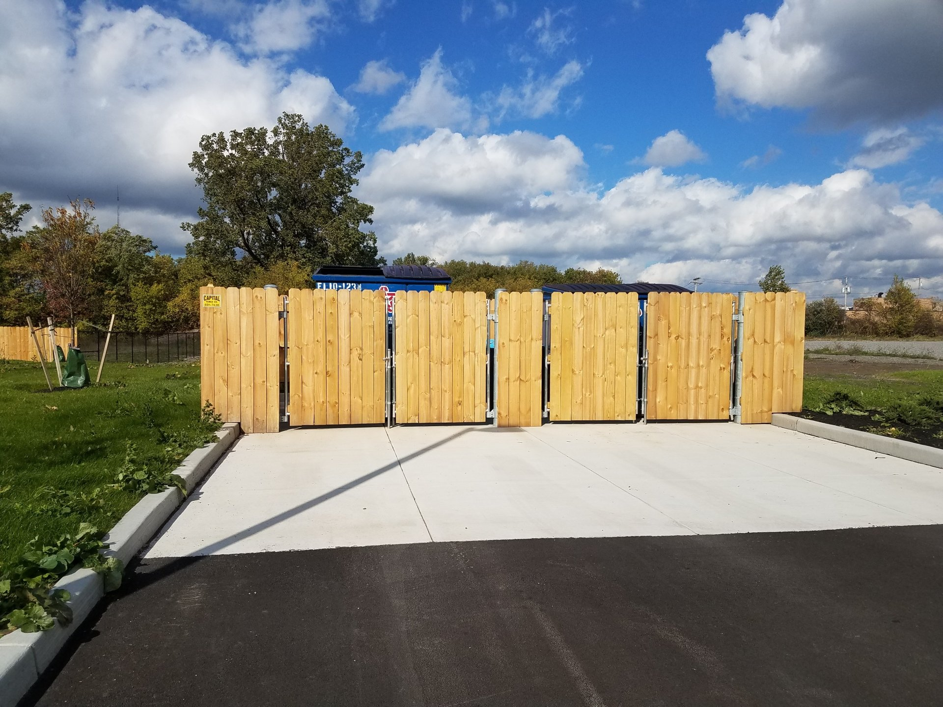 Commercial Fencing In Amherst Ny Capital Fence