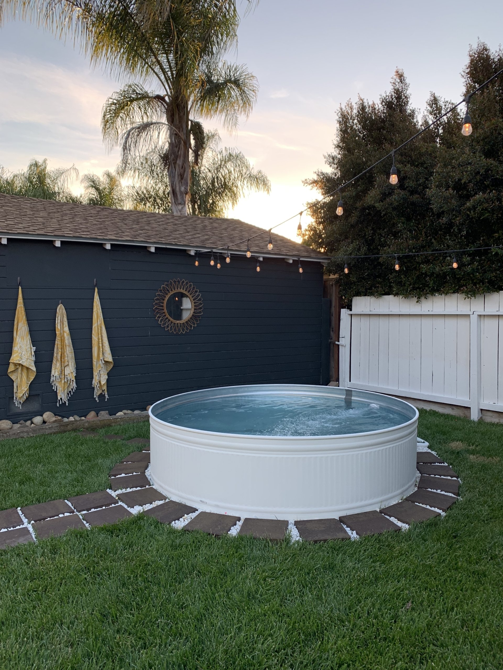Diy Stock Tank Pool