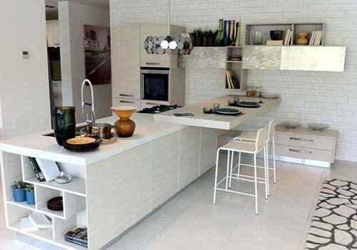 una cucina open space