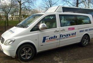 Fab Travel Ltd company van