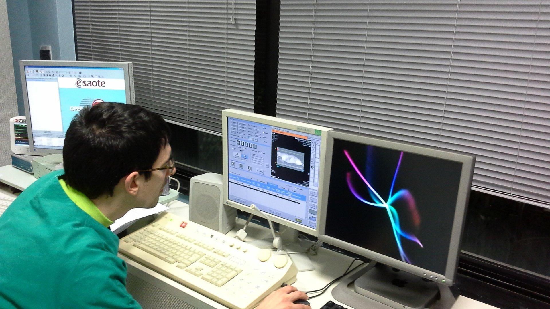 laboratorio per ecografie