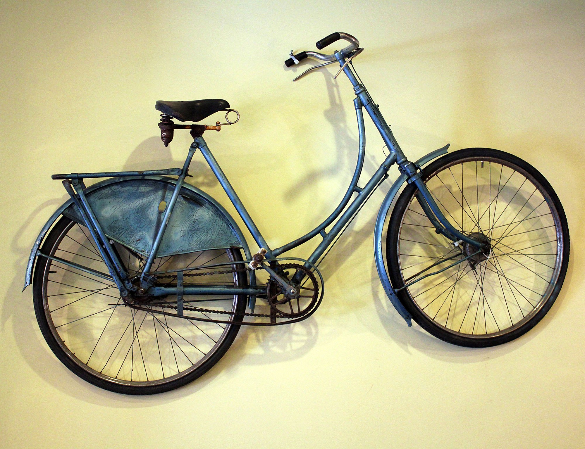 Stepthrough bicycle with fenders