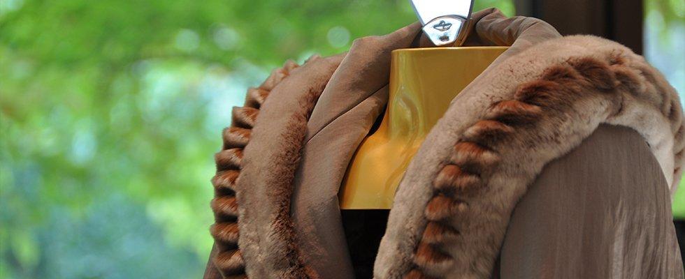 lavorazione pellicce con tessuti