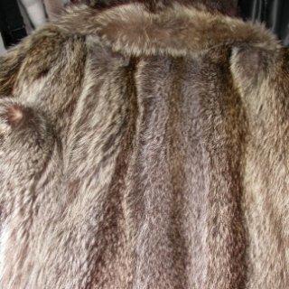 pelliccia non lavorata