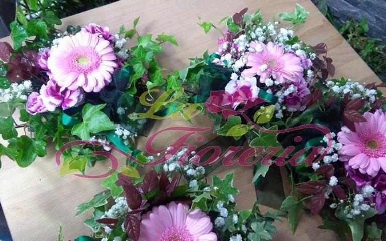 Mini composizioni floreali