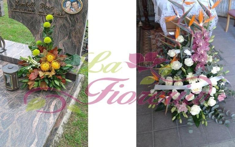 Cestini floreali per funerali