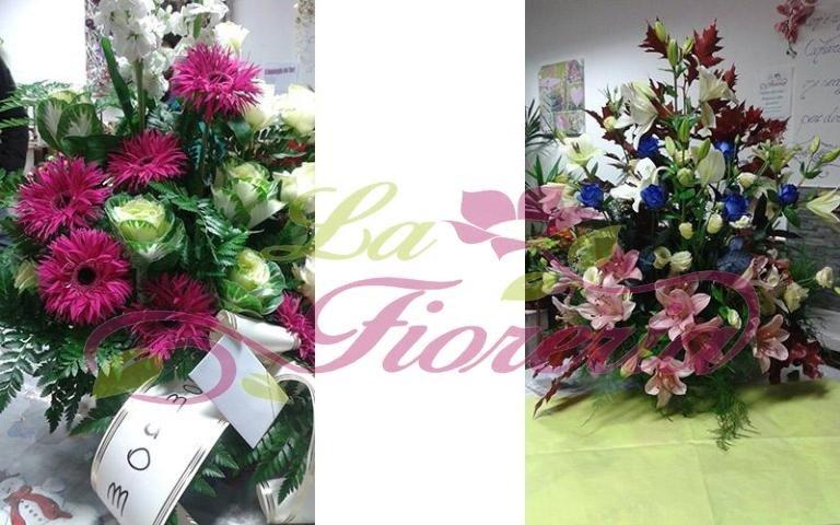 Composizioni floreali funebri