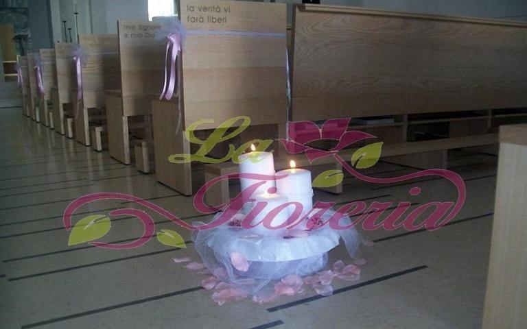 Composizione con candele