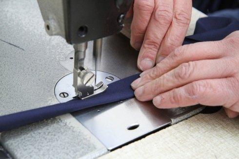 confezionamento, macchina da cucire, ricamatrice, abbigliamento lavoro