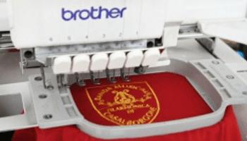 ricamo, macchina da cucire, abbigliamento lavoro