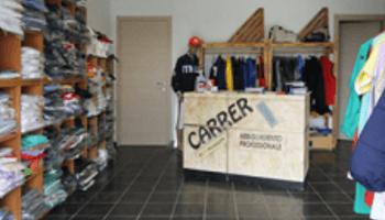 abbigliemento lavoro, abiti, personalizzazione, Carrer