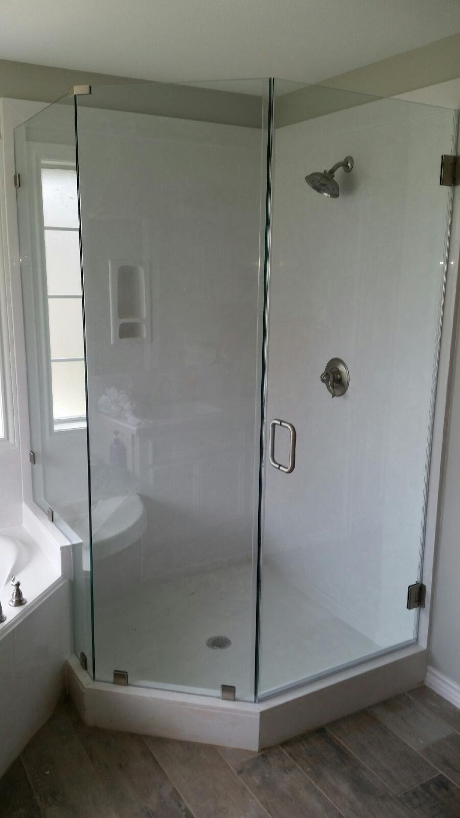 Shower Door Installation in Bryan/College Station, TX | Amen Glass
