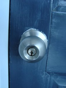 Residential key and knob set