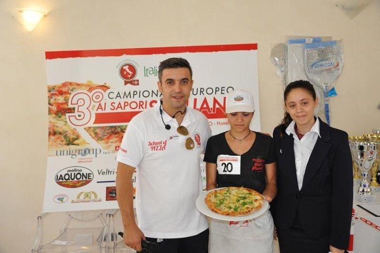 CAMPIONATO EUROPEO DI PIZZA AI SAPORI SICILIANI