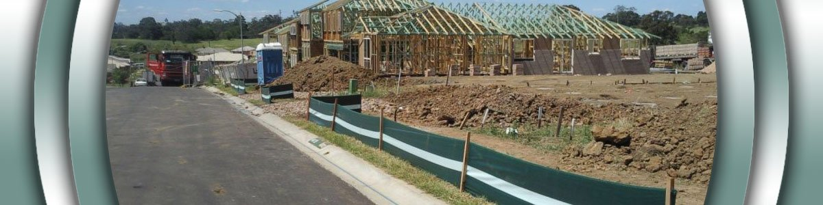 sediment control fencing soil barrier boundary fencing