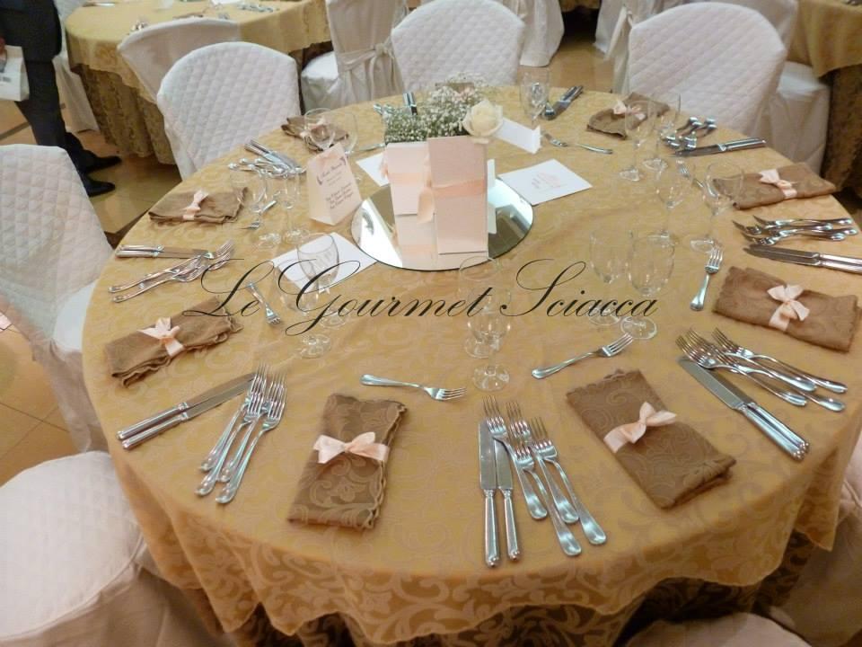 tavola per ospiti di matrimonio
