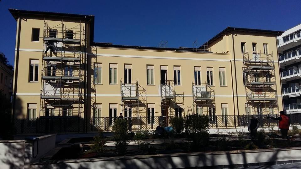 Rifacimento facciata esterna fabbricato esistente e tinteggiatura nuovo adiacente in Roma (2).jpeg