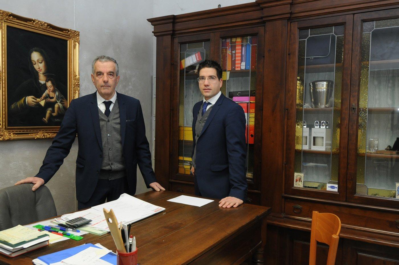 studio con i proprietari Onoranze Funebri