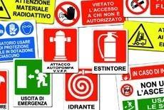 segnaletica cartelli