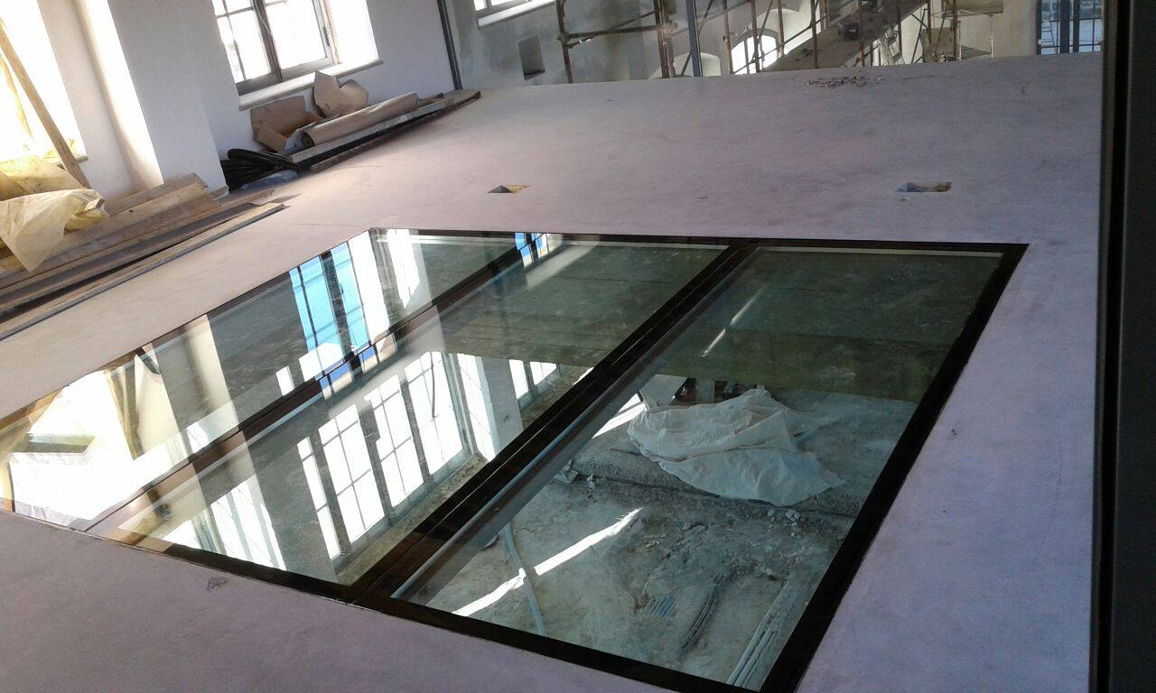 Frame di finestre in vetro