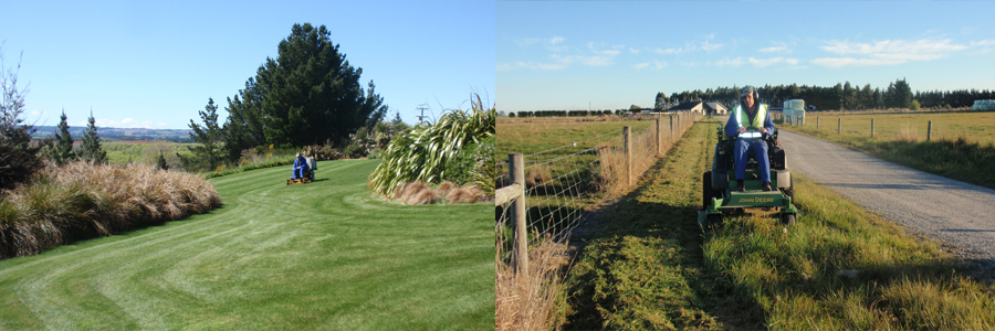 Professional lawn cutting in Christchurch