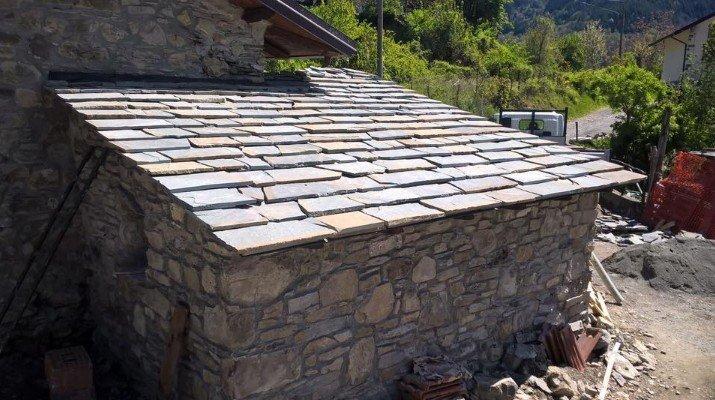 pietra tetto La mattonella Villafranca In Lunigiana (MS)