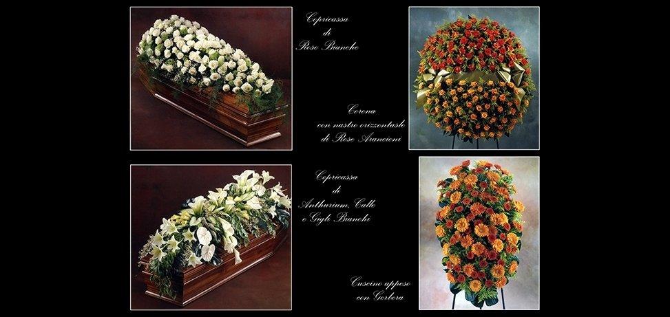 addobbi floreali cofani funebri
