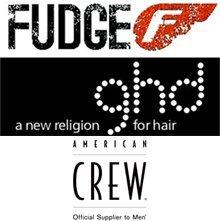 FUDGE ghd logos