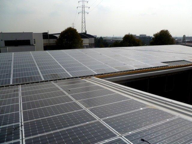 installazione pannelli solari per acqua calda