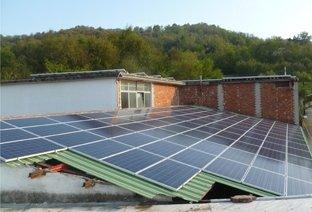 installazione pannelli solari industriali