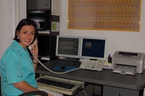 reception studio odontoiatrico