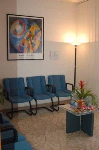 sala d'attesa ambulatorio dentistico