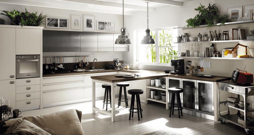 cucina-contemporanea-con-penisola