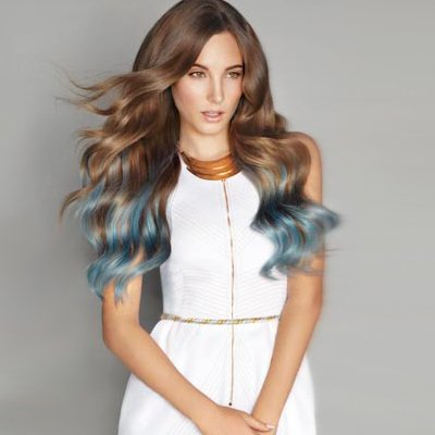 Hair colour and styling