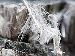 removing asbestos fibres