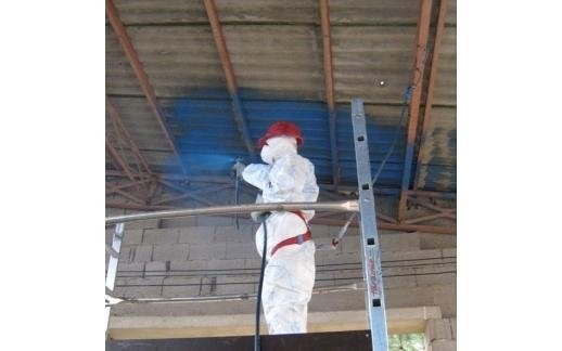 coating substances for asbestos