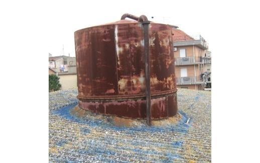 smantellamento cisterna