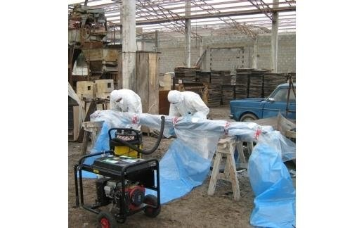 asbestos encapsulation structures