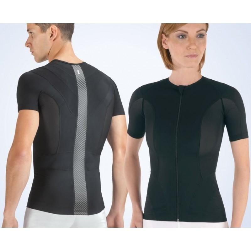 Maglietta posturale uomo